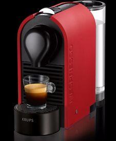 Nespresso U Coffee Machine by Krups (Red)