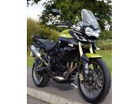 2011 TRIUMPH TIGER 800 / LEO VINCE EXHAUST/ F800 GS 650/ LOW SEAT /FREE DELIVERY