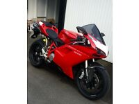 Immaculate Ducati 848 FSH, MOT JUN17, TERMI SYSTEM, CARBON UPGRADES