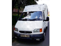 Ford transit Converted Camper van - 190 diesel: 2.5L BANANA ENGINE - Great runner!