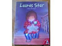 Laura's Star by Klaus Baumgart, children's book.