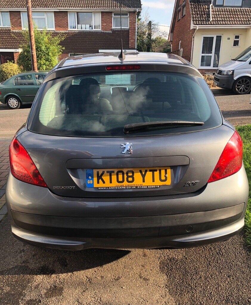 Peugeot 207 Grey 14l Diesel 08 Plate In Matson Gloucestershire Under Bonnet Fuse Box