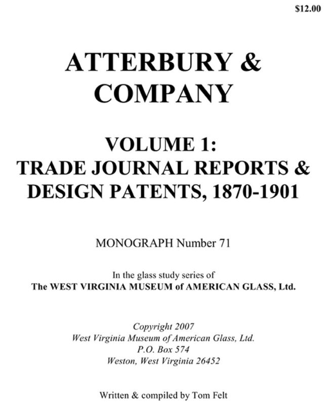 Atterbury History & Glass Design Patents 1870-1901