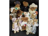 12 Collectable BEARINGTON BEARS all new with tags £15 each or offers for all