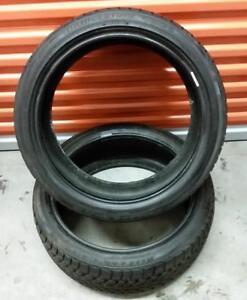(H266) 2 Pneus d'Hiver - 2 Winter Tires 225-40-19 Bridgestone 10/32