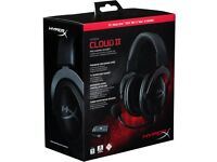 HyperX Cloud II 7.1 Surround Sound Gaming Headset- Brand New Unopened