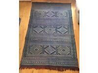 Handmade Moroccan Pure Wool Rug 240cm x 155cm Berber Rug, Luxury Rug, Quality