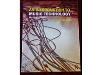 An Introduction to Music Technology second edition |Routledge Book