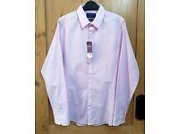 NEW Burton Mens Long Sleeve Skinny Fit Shirt - Medium - Pink