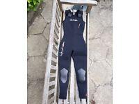 Wetsuit - Women's 7mm 'Long Jane' US size 8 (approx UK 10-12).