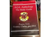 GCSE English Literature AQA Anthology Study Guide Textbook Poems Revision Learning