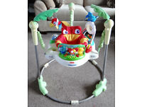 Fisher Price Rainforest Jungle Jumperoo baby bouncer