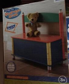 Brand new kids bench storage box