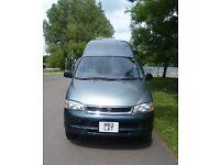 Toyota Granvia hightop campervan 3.0TD 4wd