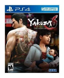 NEW Yakuza 6: The Song of Life - Essence of Art Edition - PlayStation 4
