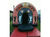 Commercial disco dome bouncy castle