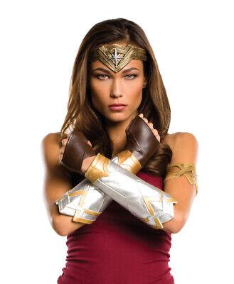 Damen Erwachsene Deluxe Wonder Woman Satz Kostüm Zubehör Batman V Superman