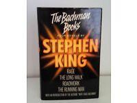 Stephen King - The Bachman Books - BCA 1986 Hardback