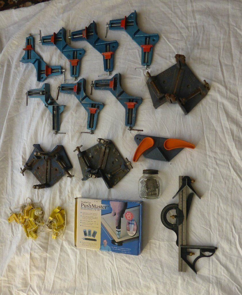 PICTURE FRAMING TOOLS VARIOUS INCLUDING PUSHMASTER | in Southampton ...