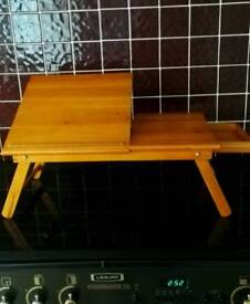 Small Wooden Foldable Tray/Table.