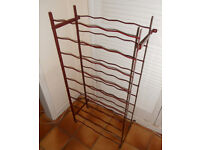 50 Bottle Metal Wine Rack