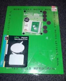 Magnetic memo board