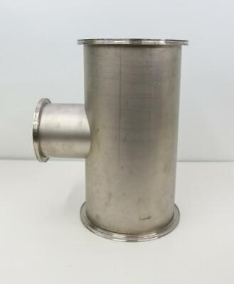 Stainless Steel Adapter Tee 10 Nominal Tube Od 19 12 Length 6 Nominal Tub