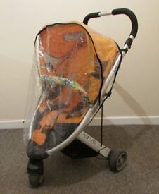 Britax Verve baby buggy push chair pram 3 wheels good usable condition