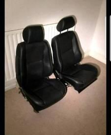Lexus leather heated front seats