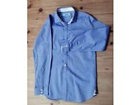 "Boy's Blue Ted Baker Shirt - age 9 (26"" chest)"