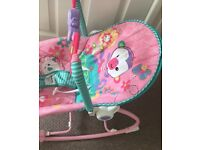 Pink baby and toddler seat