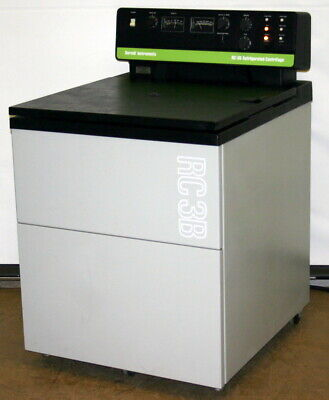 Sorvall Low Speed Centrifuge Model Rc-3b With H2000 Rotor