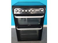 Hotpoint electric Cooker HUE61K/PCC63996, 6 months warranty, delivery available in Devon/Cornwall