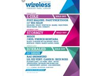Wireless 2018, SUNDAY SOLD OUT. £110-150