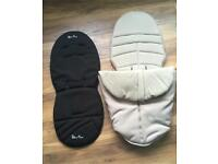 Silver Cross Surf seat liner and footmuff