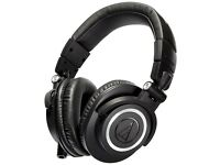 PROFESSIONAL STUDIO MONITOR HEADPHONES, ATH-M50X, Audio-Technica, PS4, Xbox, PC, Mobile.