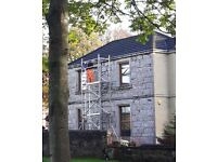 **SOLD**SOLD**SOLD** Boss & Youngman Aluminium Evolution Narrow 7.2M WH, 3-Tier Frame Scaffold Tower