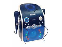 Karaoke Machine with Bluetooth & Flashing LED Lights.
