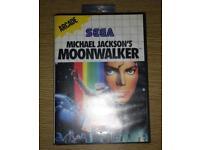 Moonwalker Master System Game