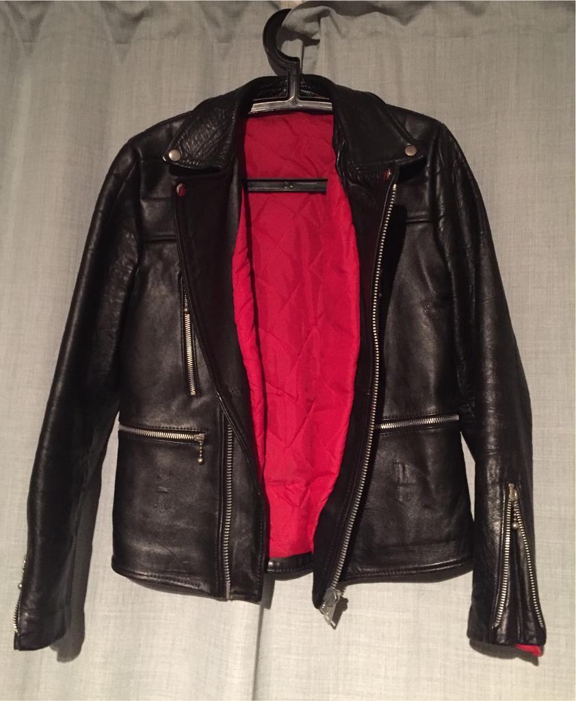 Authentic vintage leather jacket female, original price £150