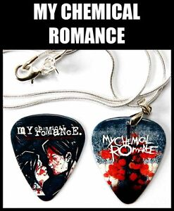 My Chemical Romance Guitar Pick Necklace + Pick