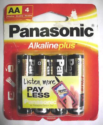 48x Panasonic Aa Battery Alkaline Plus Power 1.5v Batteri...
