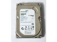 1TB hard drive with windows on it