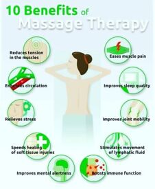 Massage from male therapist