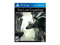The last guardian PS4 like new for swap