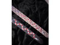 Gucci snake belt £30 each