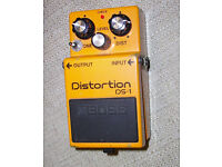 Modded (and much improved) Boss DS1 Distortion