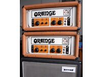 2 X Orange OR120 1972/73 pics only. Two of!