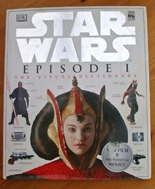 2 Star Wars 1st Editions 'The Visual Dictionary', Years 1998 & 1999. (sell separately)
