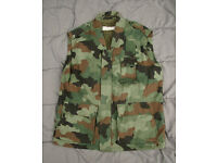 Rare SERBIAN ARMY M93 Oakleaf Camo Cold Weather VEST